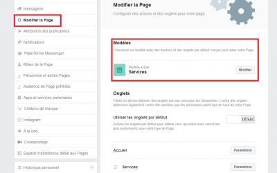 LES TUTOS D'ARTEO : les services sur votre page Facebook