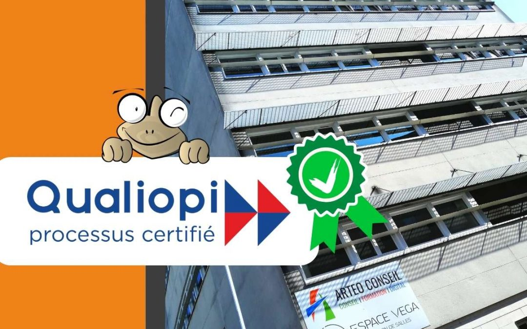 ARTEO Formation est certifié QUALIOPI